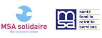 Logos MSA Solidaire et MSA